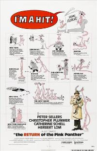 The Return of the Pink Panther - 27 x 40 Movie Poster - Style F