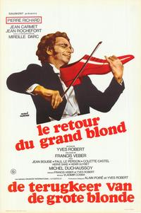 The Return of the Tall Blond Man with One Black Shoe - 27 x 40 Movie Poster - Belgian Style A