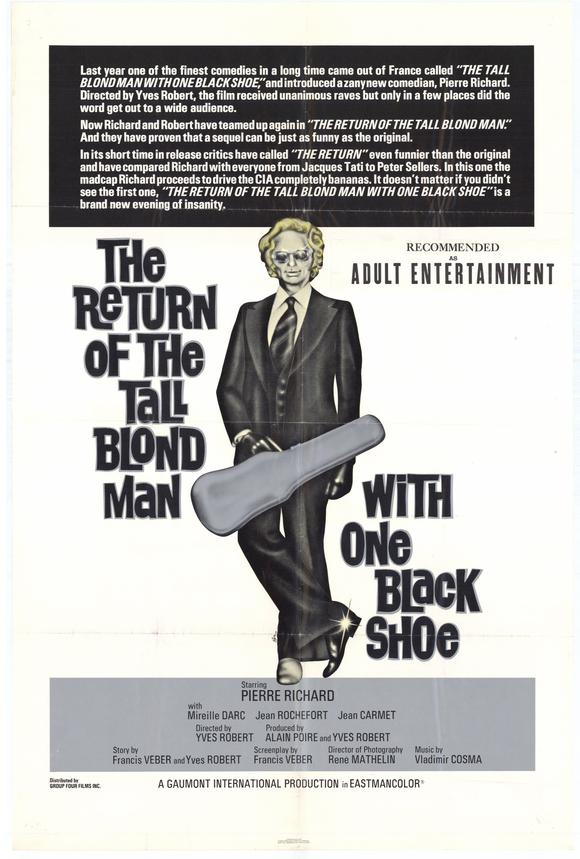 The Tall Blond Man With One Black Shoe Soundtrack