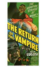 The Return of the Vampire - 27 x 40 Movie Poster - Style A