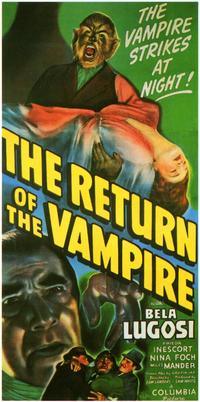The Return of the Vampire - 11 x 17 Movie Poster - Style A