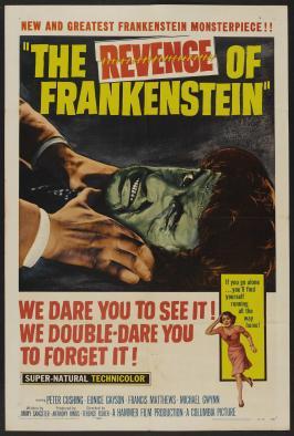 The Revenge of Frankenstein - 27 x 40 Movie Poster - Style B