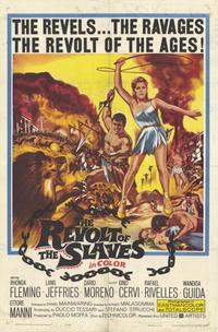 The Revolt of the Slaves - 11 x 17 Movie Poster - Style A