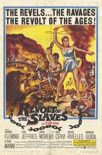 The Revolt of the Slaves - 27 x 40 Movie Poster - Style A