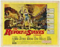 The Revolt of the Slaves - 27 x 40 Movie Poster - Style B