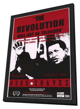 The Revolution Will Not Be Televised - 11 x 17 Movie Poster - Style A - in Deluxe Wood Frame
