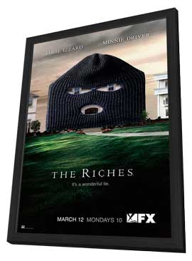 The Riches - 11 x 17 TV Poster - Style A - in Deluxe Wood Frame
