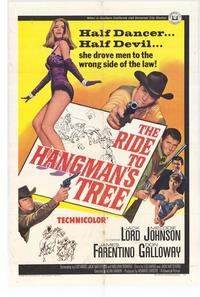 Ride to Hangmans Tree - 27 x 40 Movie Poster - Style A