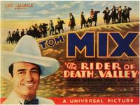 The Rider of Death Valley - 11 x 14 Movie Poster - Style A