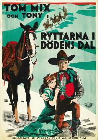 The Rider of Death Valley - 27 x 40 Movie Poster - Swedish Style A