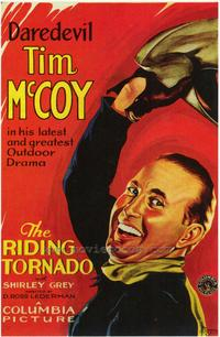 The Riding Tornado - 43 x 62 Movie Poster - Bus Shelter Style A