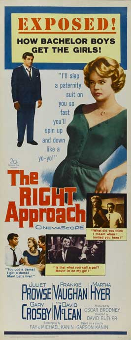 Right Approach - 14 x 36 Movie Poster - Insert Style A
