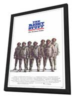 The Right Stuff - 27 x 40 Movie Poster - Style C - in Deluxe Wood Frame