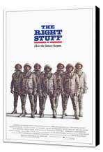 The Right Stuff - 27 x 40 Movie Poster - Style C - Museum Wrapped Canvas