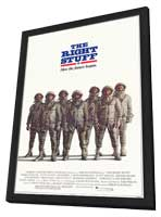 The Right Stuff - 11 x 17 Movie Poster - Style D - in Deluxe Wood Frame