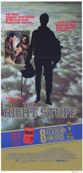 The Right Stuff - 11 x 17 Movie Poster - Style B