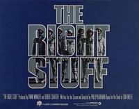 The Right Stuff - 11 x 14 Movie Poster - Style A