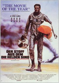 The Right Stuff - 11 x 17 Movie Poster - German Style A