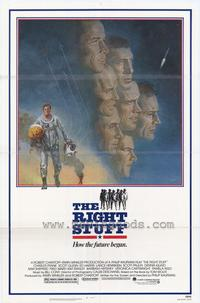 The Right Stuff - 43 x 62 Movie Poster - Bus Shelter Style A