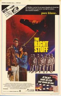 The Right Stuff - 11 x 17 Movie Poster - Belgian Style A