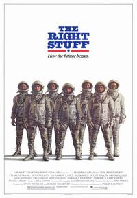 The Right Stuff - 43 x 62 Movie Poster - Bus Shelter Style B