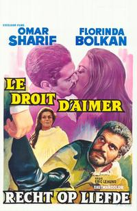 The Right to Love - 11 x 17 Movie Poster - Belgian Style A