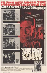 The Rise and Fall of Legs Diamond - 11 x 17 Movie Poster - Style A