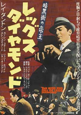 The Rise and Fall of Legs Diamond - 27 x 40 Movie Poster - Japanese Style A