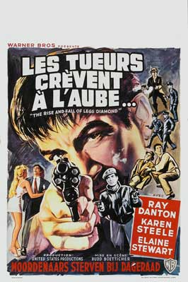 The Rise and Fall of Legs Diamond - 11 x 17 Movie Poster - Belgian Style A