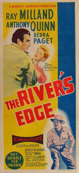 The River's Edge - 13 x 30 Movie Poster - Australian Style A