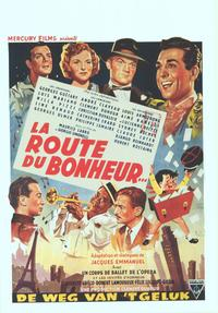 The Road To Happiness - 11 x 17 Movie Poster - Belgian Style A