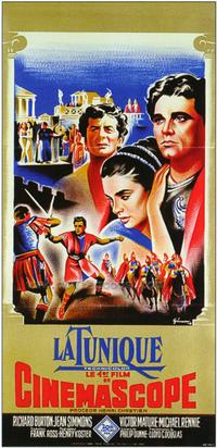 The Robe - 27 x 40 Movie Poster - French Style B