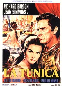 The Robe - 11 x 17 Movie Poster - Italian Style A