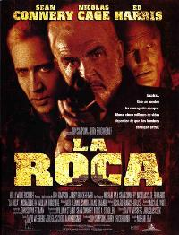 The Rock - 11 x 17 Movie Poster - Spanish Style A