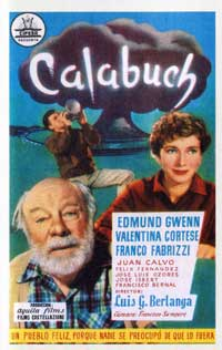 The Rocket from Calabuch - 27 x 40 Movie Poster - Spanish Style A