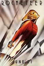 The Rocketeer - 27 x 40 Movie Poster - Style C