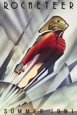 The Rocketeer - 27 x 40 Movie Poster - Style A