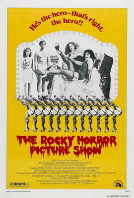 The Rocky Horror Picture Show - 27 x 40 Movie Poster - Style B