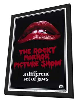 The Rocky Horror Picture Show - 27 x 40 Movie Poster - Style A - in Deluxe Wood Frame