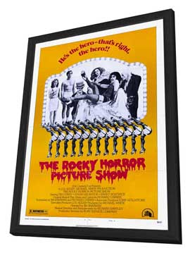 The Rocky Horror Picture Show - 27 x 40 Movie Poster - Style B - in Deluxe Wood Frame