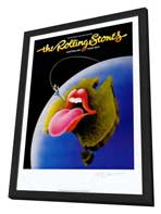 The Rolling Stones - 11 x 17 Music Poster - Style A - in Deluxe Wood Frame