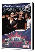 The Rolling Stones Steel Wheels Tour - 11 x 17 Movie Poster - Style A - Museum Wrapped Canvas