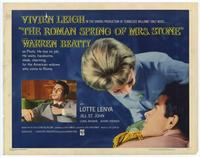 The Roman Spring of Mrs. Stone - 11 x 14 Movie Poster - Style G