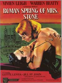 The Roman Spring of Mrs. Stone - 11 x 17 Movie Poster - Style B