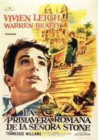 The Roman Spring of Mrs. Stone - 11 x 17 Movie Poster - Spanish Style A