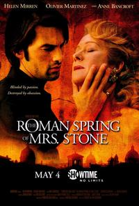 The Roman Spring of Mrs. Stone - 11 x 17 Movie Poster - Style A