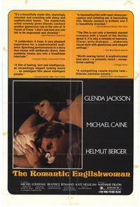 The Romantic Englishwoman - 27 x 40 Movie Poster - Style A