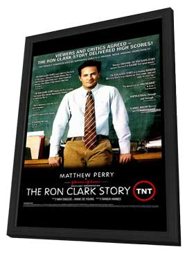 The Ron Clark Story - 11 x 17 TV Poster - Style A - in Deluxe Wood Frame