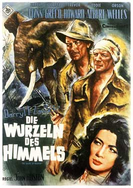 The Roots of Heaven - 11 x 17 Movie Poster - German Style A