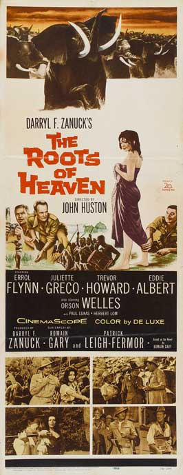 The Roots of Heaven - 14 x 36 Movie Poster - Insert Style A